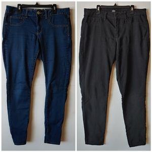 Bundle of 2 skinny jeans size 12/13
